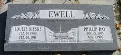Louise <I>Rieske</I> Ewell