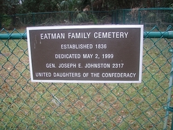 Eatman Family Cemetery
