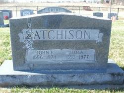 Lola M. <I>Austin</I> Atchison