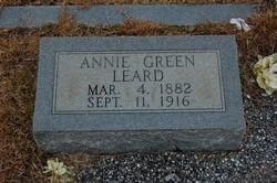 Mrs Annie Daisy <I>Green</I> Leard