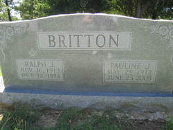 Pauline <I>Jamison</I> Britton