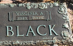 Virginia A. Black