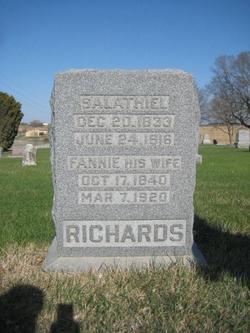 "Frances ""Fannie"" <I>Jones</I> Richards"