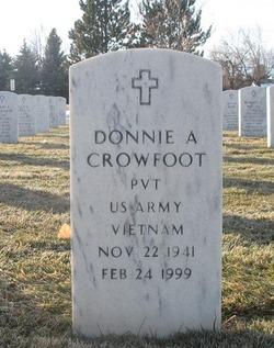 Donnie A Crowfoot