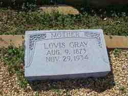 Lovis <I>Cross</I> Gray