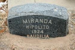 Baudilia <I>Belasquez</I> Miranda