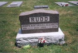 Lula Elizabeth <I>McKenzie</I> Rudd