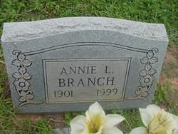 Annie L. Branch