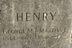Martha Elizabeth <I>Burroughs</I> Henry