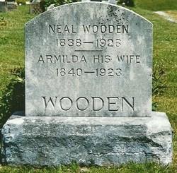 "Armilda ""Aunt Minnie"" <I>Bunch</I> Wooden"