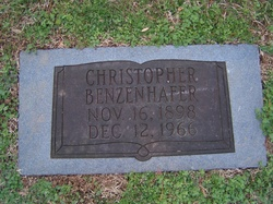 John Christopher Benzenhafer, Jr
