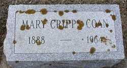 Mary <I>Cripps</I> Coan
