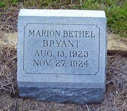 Marion Bethel Bryant