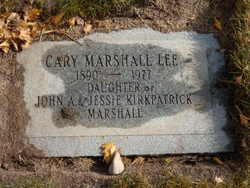 Cary Marshall Lee