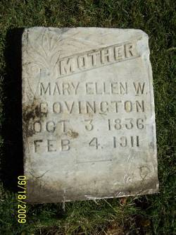 Mary Ellen <I>Woodmansee</I> Covington