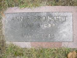 Annie E. <I>Emerick</I> Brockett