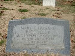 Mary E. <I>Howard</I> Batchelor