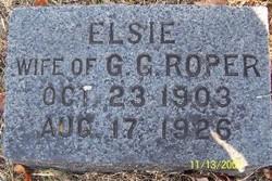 Elsie Willola <I>Gracey</I> Roper