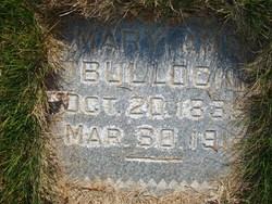 Mary Ann <I>Wagstaff</I> Bullock