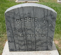 Bessie L Christensen