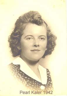 Pearl M Kaler