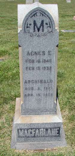 Agnes Eliza <I>Heyborne</I> Macfarlane