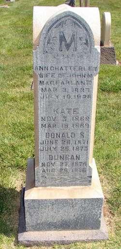 Ann <I>Chatterley</I> Macfarlane