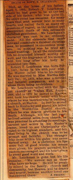 Robert T Leachman