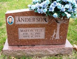 """Marion Channing """"Pete"""" Anderson"""