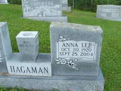 Anna Lee <I>Shepherd</I> Hagaman