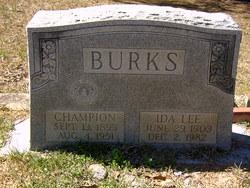Ida Lee <I>Bice</I> Burks
