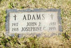 Josephine <I>Clavey</I> Adams