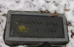 """Susanna """"Suebelle"""" Ball"""
