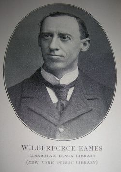 Dr Wilberforce Eames