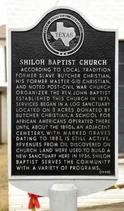 Shiloh Baptist Church Cemetery in Texas - Find A Grave Cemetery