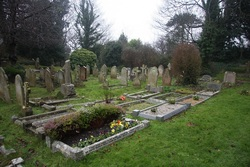 St Boniface Bonchurch Churchyard