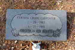 Cynthia <I>Crook</I> Carpenter