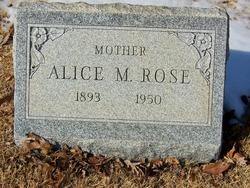 Alice Marie Rose