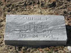 Smithie <I>Pierce</I> Horne