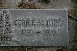 Cora Ena <I>Bell</I> Bowman