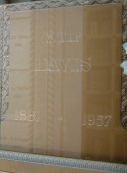 """William Tipton """"Tip"""" Davis"""
