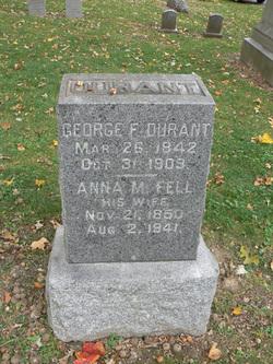Anna M <I>Fell</I> Durant