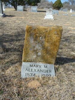 "Mary Maranda ""Mollie"" Alexander"