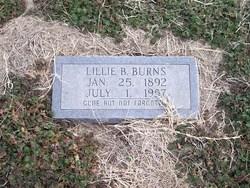 Lillie B. <I>McEwin</I> Burns
