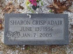 Sharon Kay <I>Crisp</I> Adair