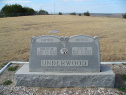 Veo <I>Millican</I> Underwood