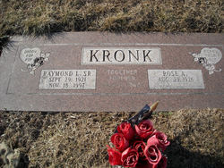 Raymond Lee Kronk, Sr