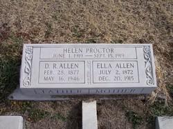 """Derias """"D.R."""" Allen"""