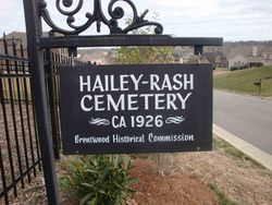 Hailey-Rash Cemetery