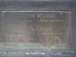 Elmer G Long